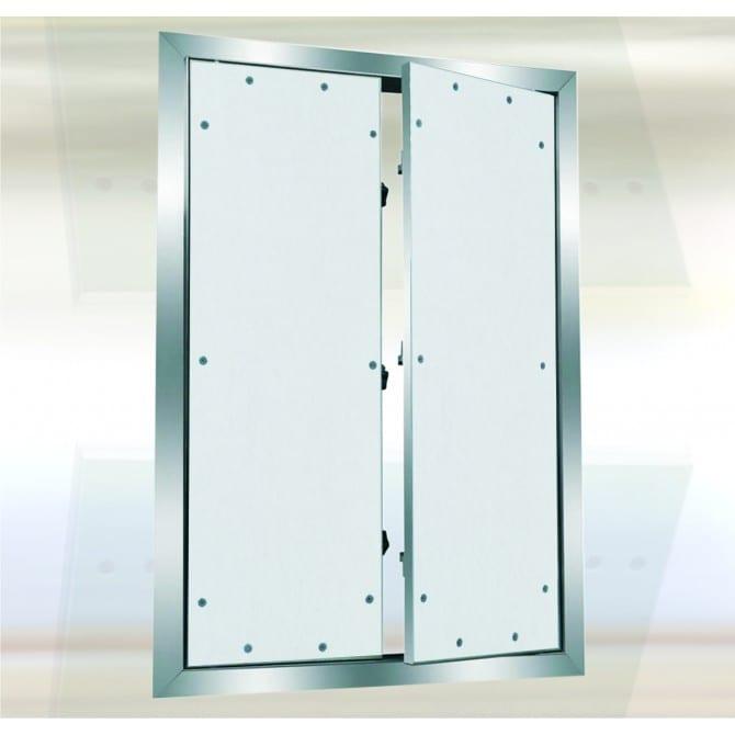 System F1 Multi-Door Access Door | Fixed Hinge | Drywall Inlay