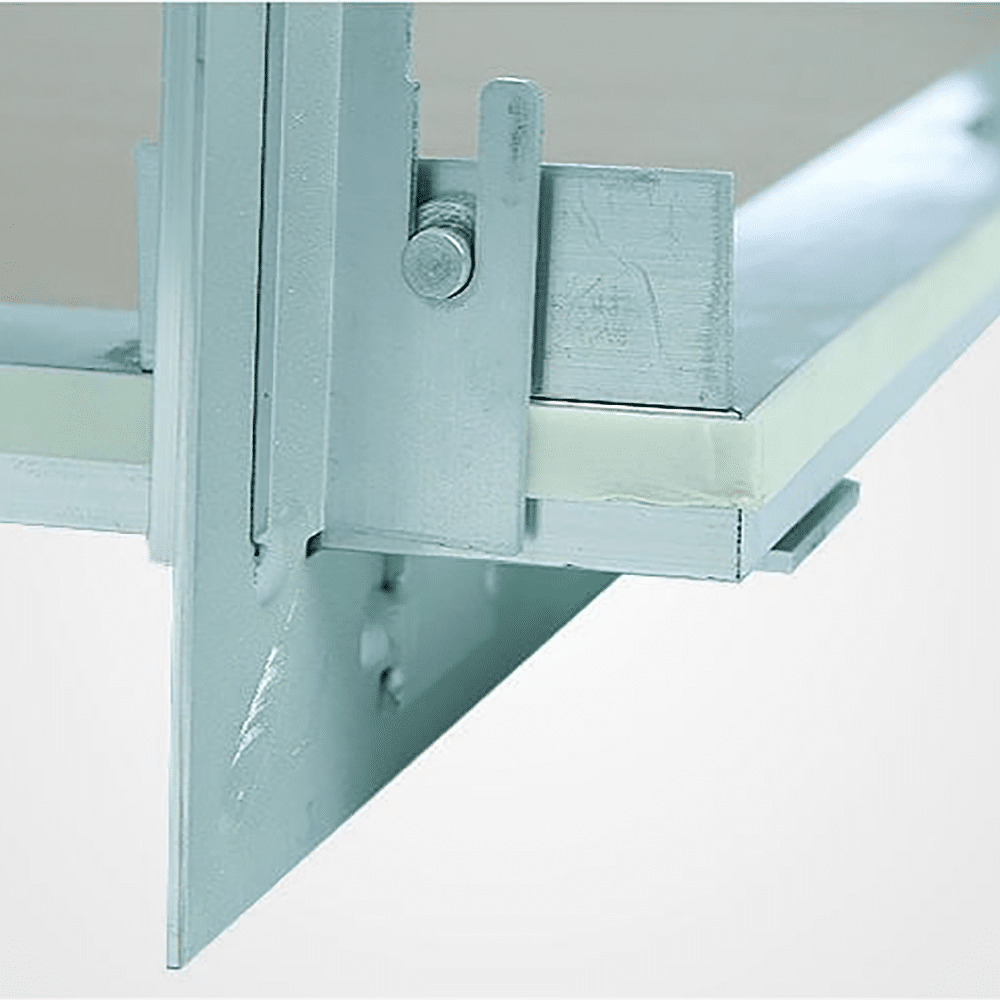 System F2 | Access Panel | Removable - Hinge and Foam Seal View