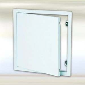 System B2 | Universal Metal Access Panel | Removable - Door Open Front View
